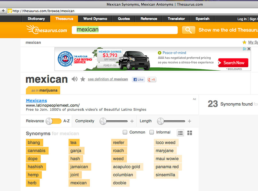 mexicanthesaurus
