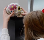 Thumbnail image for Can a Day of the Dead skull blowing bubbles sell more burritos? (video)