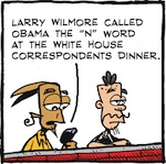 Thumbnail image for La Cucaracha: Comic calls Obama the N-word (toon)