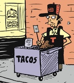 Thumbnail image for La Cucaracha: Hispanics love that new taquero in town (toon)