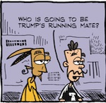 Thumbnail image for La Cucaracha: Trump considers Hispanic VP running mate (toon)