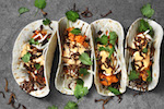 Thumbnail image for Swedish sweet potato tacos with chipotle sauce bernaise (video)