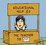 Thumbnail image for La Cucaracha: School's out for Summer! (toon)