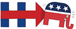 Thumbnail image for Hillary's message to the GOP: Let's get it on! (toon)