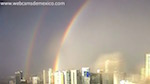Thumbnail image for Webcam video: Stunning double rainbow forms over Mexico City
