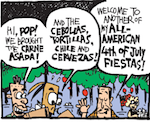 Thumbnail image for La Cucaracha: Another July 4, another all-American cookout (toon)