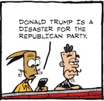 Thumbnail image for La Cucaracha: The GOP must tone down Trump's racism (toon)