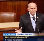 Thumbnail image for Batsh1t crazy TX Rep. Louie Gohmert: Beware of gays in space! (videos)