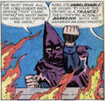 Thumbnail image for Fantastic Four fight 'The Hate Monger' (Marvel Comics radio show)