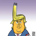 Thumbnail image for For Donald Trump, every day is a bad herr day (toon)