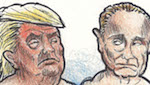 Thumbnail image for The Bromance of Donald Trump and Vladimir Putin (toon)