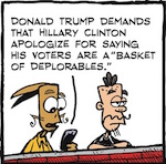 Thumbnail image for La Cucaracha: Oh, Donald Bear, what a big basket you have! (toon)