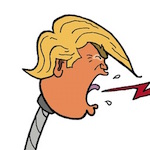 Thumbnail image for Trump lost the debate because of this 'defective microphone' (toon)