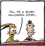Thumbnail image for La Cucaracha: Scariest Halloween story ever! (toon)
