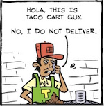 Thumbnail image for La Cucaracha: A Day in the Life of the Taco Cart Guy (toon)