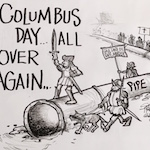 Thumbnail image for Deja Vu: Columbus Day in North Dakota (toon)