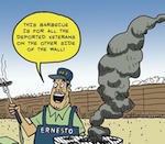 Thumbnail image for La Cucaracha: This one goes out to all those deported veterans (toon)
