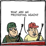 Thumbnail image for La Cucaracha: Live from Standing Rock, North Dakota (toon)