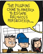 Thumbnail image for La Cucaracha: The Pilgrims wanted religious freedom (toon)