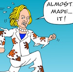 Thumbnail image for OMG! Will this nasty woman in a pantsuit be the next POTUS? (toon)