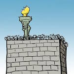 Thumbnail image for As promised, Donald Trump is building that wall (toon)