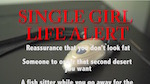 Thumbnail image for Single Girl Life Alert: End those worries about being alone (video)