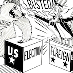 Thumbnail image for Foreign countries interfering in elections? Shameful! (toon)