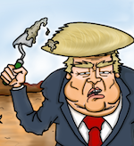 Thumbnail image for Can Donald Trump use his own resources to pay for a wall? (toon)