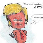 Thumbnail image for Watch out, D.C. – there's a new Tweeting Bird in town! (toon)