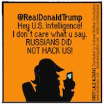 Thumbnail image for The Beandocks: Trump Tweets – who hacked the election? (toon)