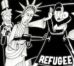 Thumbnail image for Refugees: 'Where do we go from here?' (toon)