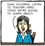 Thumbnail image for La Cucaracha: Today's lesson, children: What are facts? (toon)