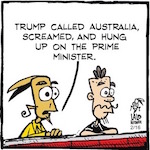 Thumbnail image for La Cucaracha: Does Trump's foreign policy have potential? (toon)