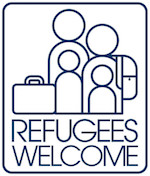 Thumbnail image for Get your 'Refugees Welcome' sticker pack here (toons)