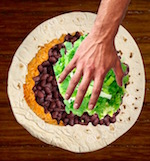 Thumbnail image for Half-minute video: How to roll a burrito
