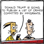 Thumbnail image for La Cucaracha: Twitler is making a list (toon)