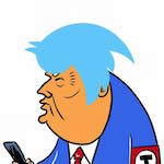 Thumbnail image for Trump's A Twit (toon)