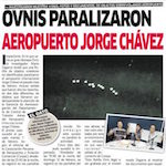 Thumbnail image for Fleet of OVNIs/UFOs shuts down Lima, Peru airport (video)
