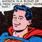 Thumbnail image for Superboy says: America is for ALL kinds of people, kids! (1951 toon)