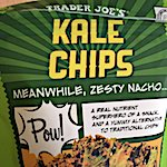 Thumbnail image for Chipsters' Delight: Zesty nacho-flavored kale chips (photo)