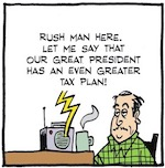 Thumbnail image for La Cucaracha: What does Trump's tax plan mean for me? (toon)