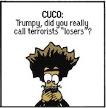 Thumbnail image for The Beandocks: Trump is tough on terror (toon)
