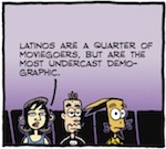 Thumbnail image for La Cucaracha: Hollywood still lags in casting Latinos (toon)