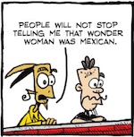 Thumbnail image for La Cucaracha: Is Wonder Woman Amazonian? Israeli? Mexican? (toon)