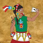 Thumbnail image for It's a classic of Mexican art — La Selfie (toon)