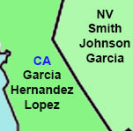 Thumbnail image for The most popular names in California? Garcia, Hernandez, y Lopez