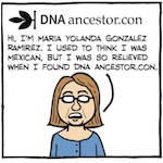 Thumbnail image for La Cucaracha: My DNA test results came back – que surprise! (toons)