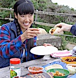 Thumbnail image for Campout cooking: Korean carnitas tacos con kimchi (video)