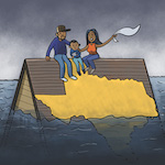 Thumbnail image for Texas under water (toon)