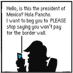 Thumbnail image for The Beandocks: Trump Tweets to Mexican President Pancho (toon)